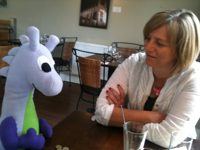 Lilian Greenwood and Puffles