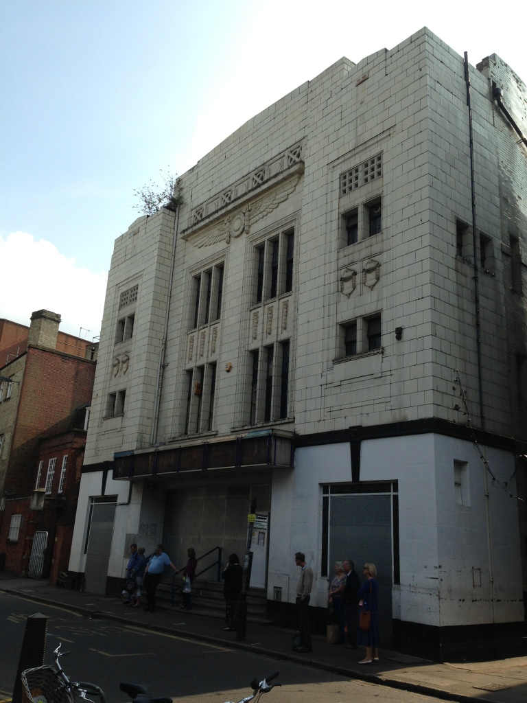 The old bingo hall that has remained unused for far longer than is sensible