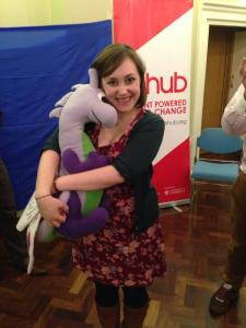 Puffles with Joanna Massie of the RSA