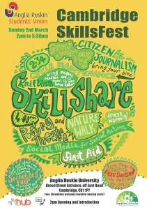 Our skillsfest poster