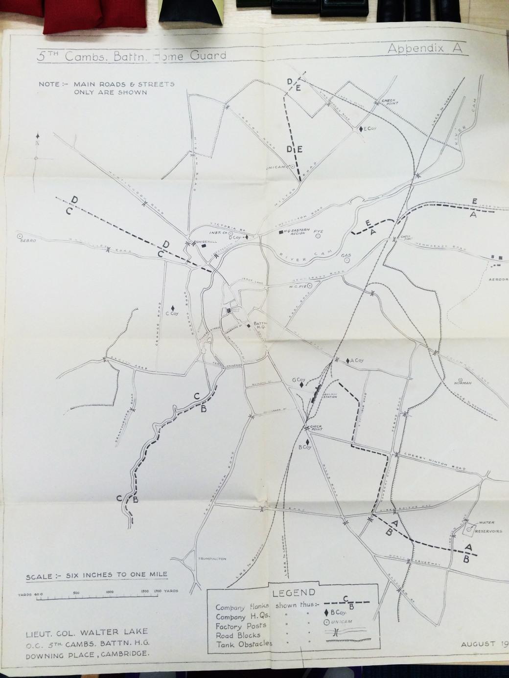 Cambridge Defences WWII