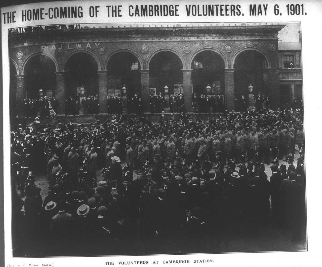 010506 Boer War Camb Volunteers