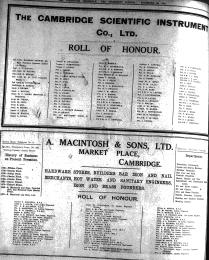 181120 CamSciInstCo Roll of honour