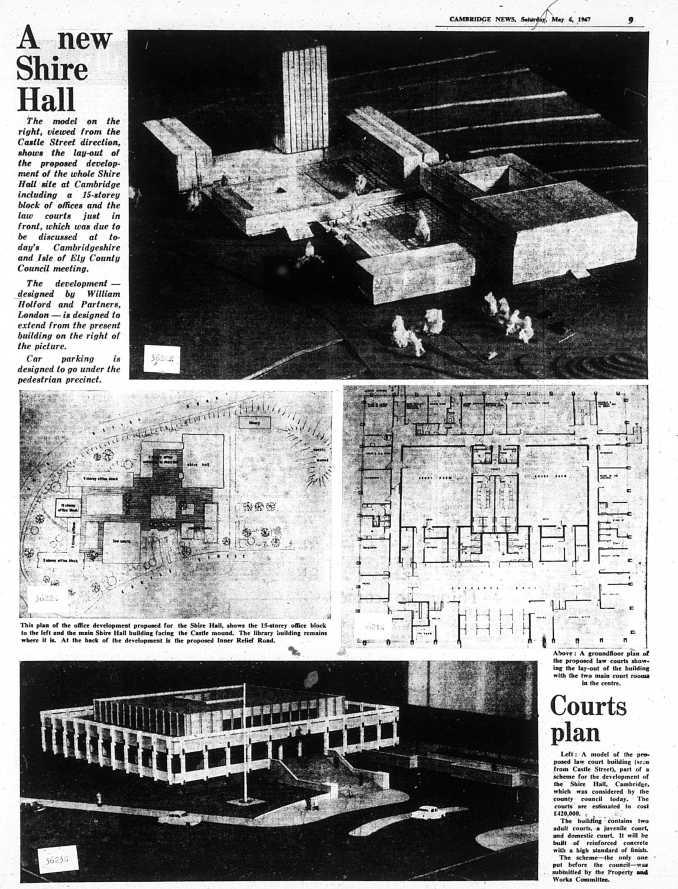 670506 New Shire Hall 1967 unbuilt