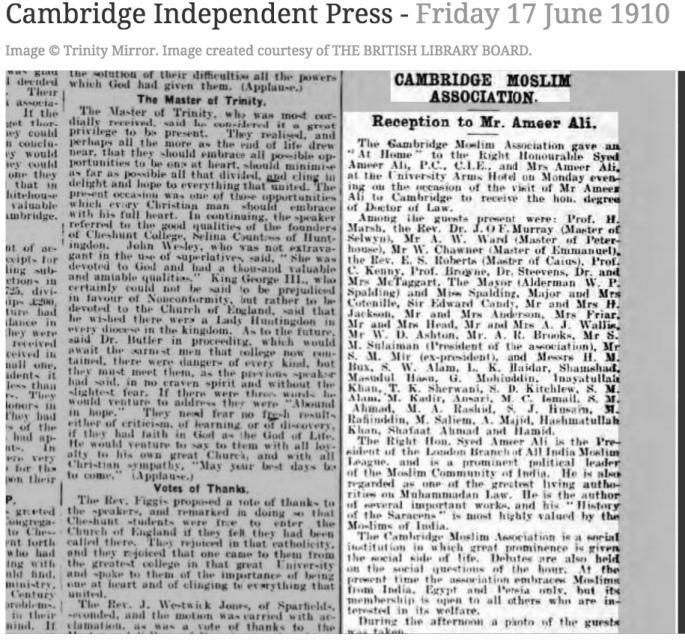 100617 Cambridge Moslim Association - Muslims in Cambridge