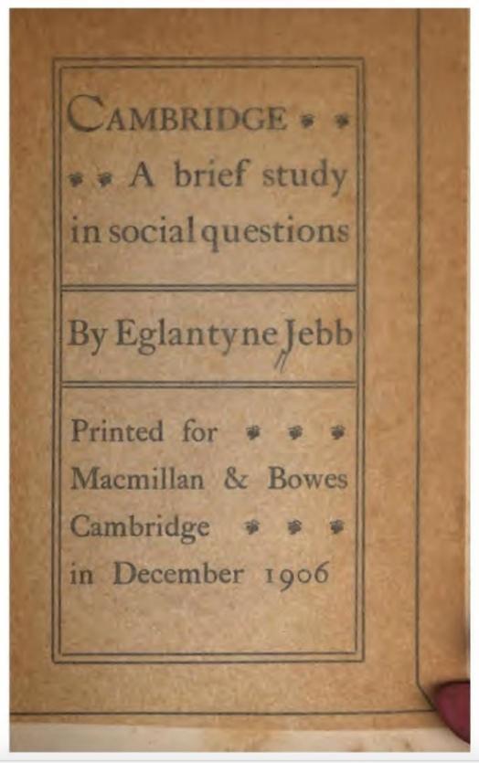 061201 Cambridge A Brief Study Jebb Cover