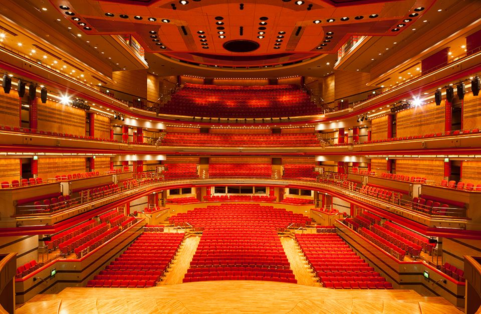 Birmingham Symphony Hall as Florence Hall Cambridge