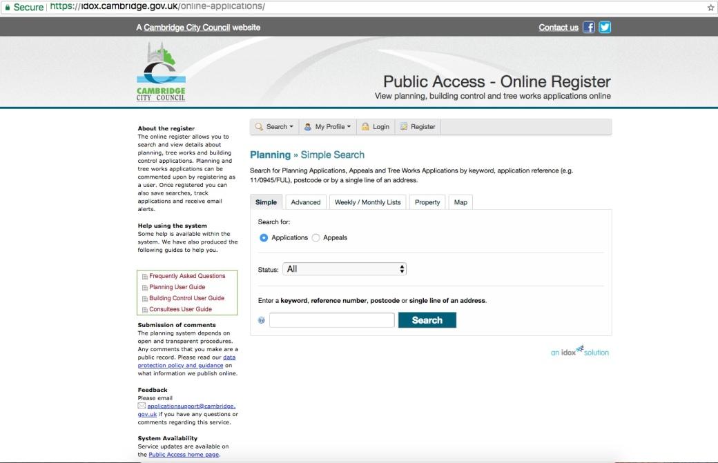 Planning Portal 1
