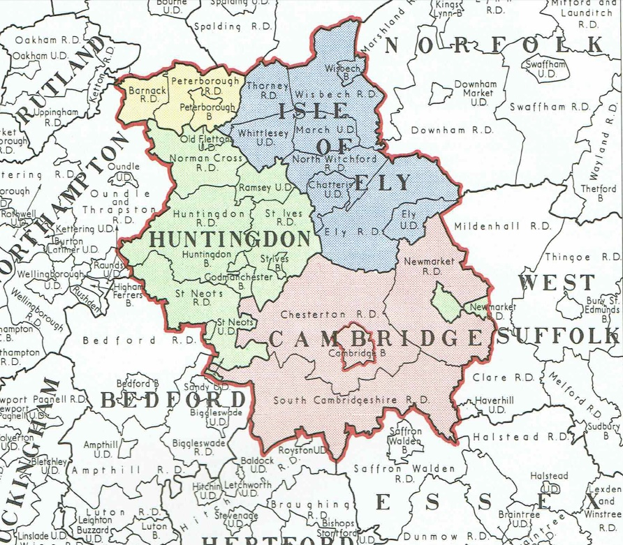 Cambridgeshire 1945