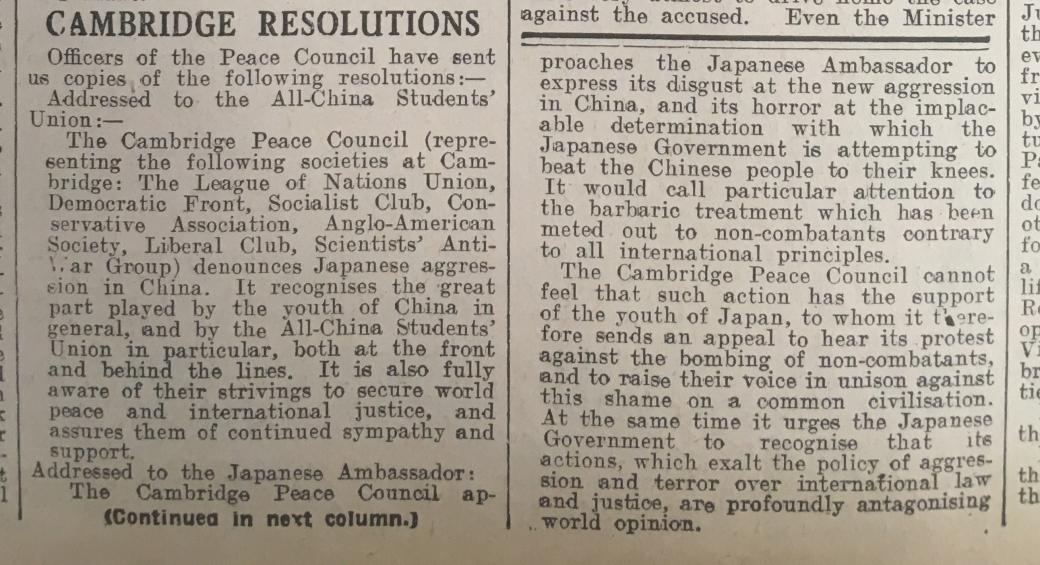 1937 Resolution following Prof Peng Chun talk in Cambridge.jpg