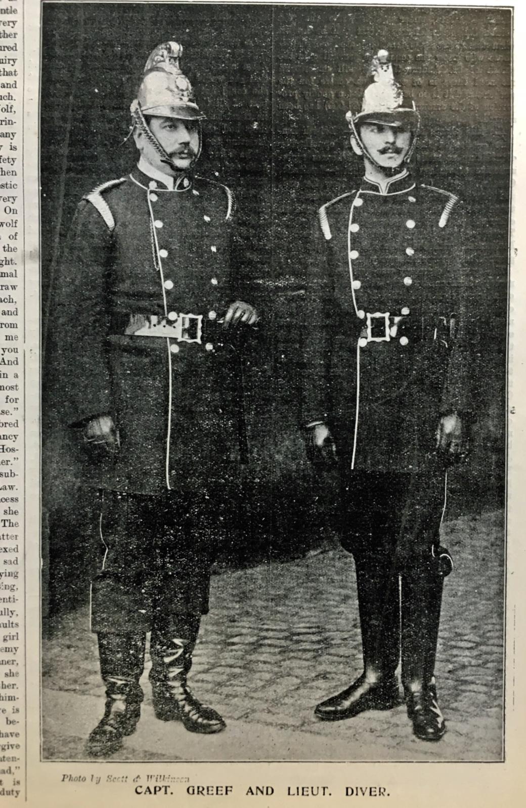 CBG Graphic Cambridge Fire Brigade 1900 Capt Greef Lt Diver.jpg