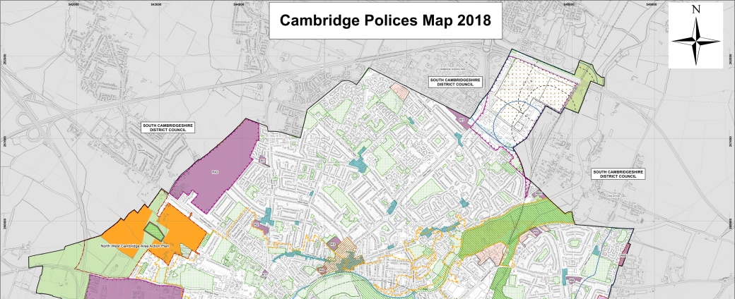 190720 Cambridge Local Plan_north-map
