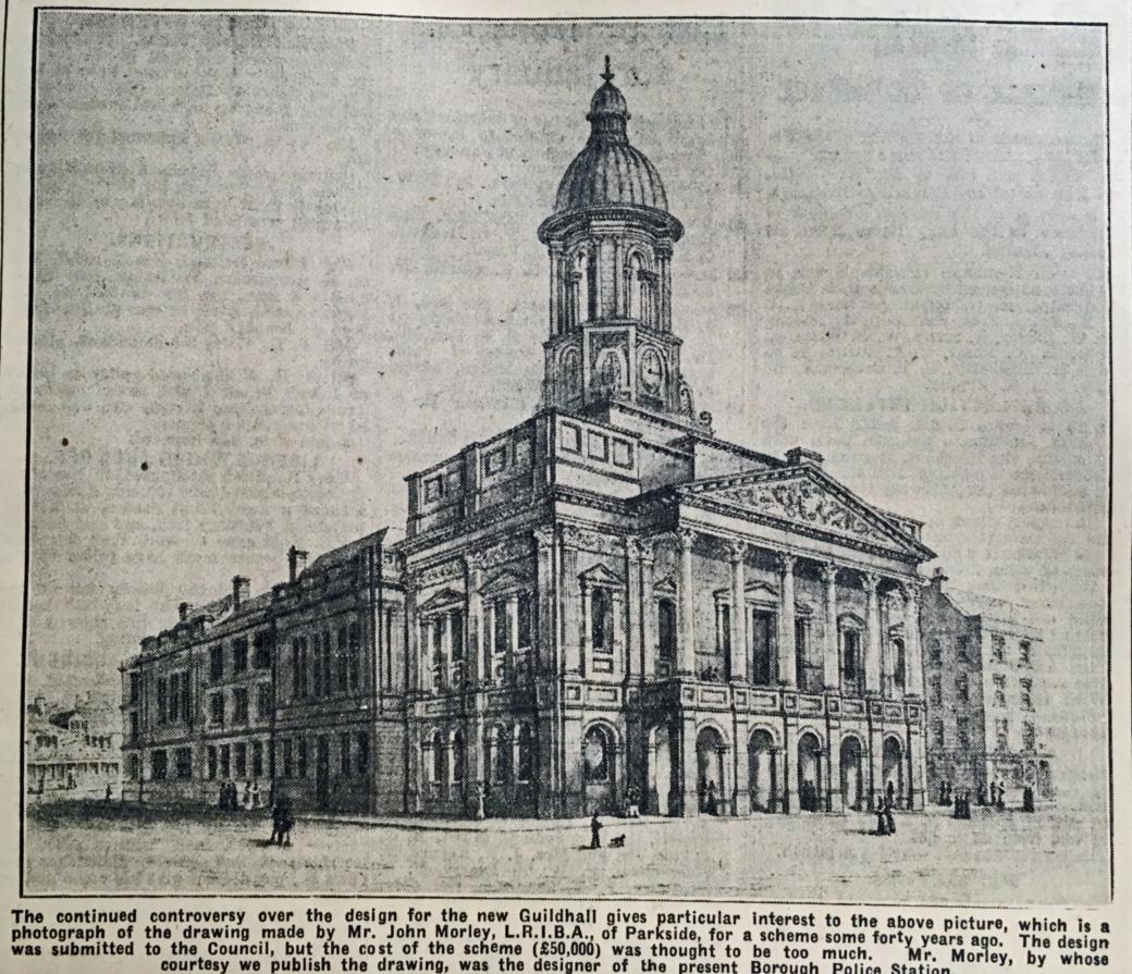350222 John Morley Guildhall 1890s